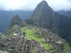 The Sacred Macchu Picchu - One day I will kneal in humble thanksgiving upon my arrival to this mystical place. **Many thanks to LIam Quinn For This Photo**