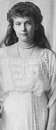 """Though described as """"gifted & bright"""", Anastasia was never interested in the restrictions of their tutored schooling..."""