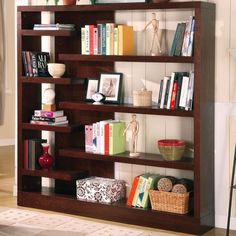 I pinned this Sandy Bookcase from the Eclectic Collector event at Joss and Main!
