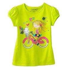 SONOMA life + style Bike Ride Tee - Girls 4-7 AT KOHLS