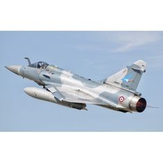 A Dassault Mirage 2000C of the French Air Force Canvas Art - Giovanni CollaStocktrek Images (36 x 22)