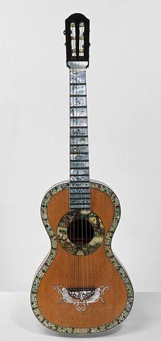 Guitar. Spain, 1840-1845. The Victoria & Albert Museum