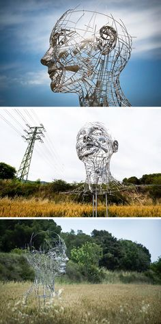 Sculptor Jordi Díez Fernández piece, titled Celia, is an intricate installation that simultaneously celebrates the human form and pays tribute to the artist's wife.