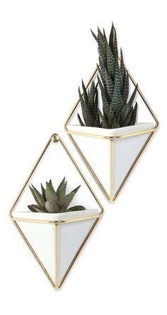 Diamond Jim Wall Vase - Set of 2