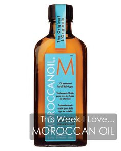 Why I'm a devotee of Moroccan Oil for my hair and dry scalp!