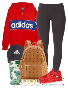 """""""Originals x Sports"""" by livelifefreelyy ❤ liked on Polyvore featuring adidas Originals, Sonix, Joe Browns, MCM, ASOS and NIKE"""