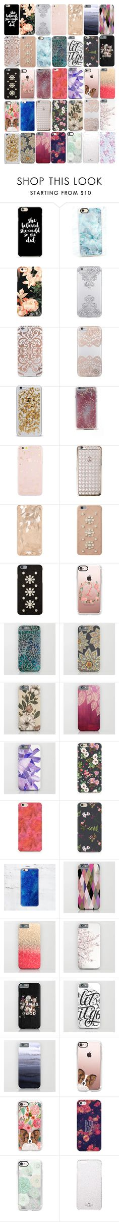 """""""Lydia Inspired IPhone 6S/6S Plus Cases"""" by veterization ❤ liked on Polyvore featuring Casetify, Ted Baker, Nanette Lepore, Agent 18, Sonix, CYLO, MICHAEL Michael Kors and Kate Spade"""