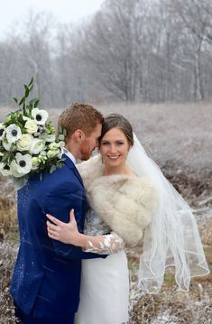 Winter Wedding Fur, Winter Wedding Bridesmaids, Elegant Winter Wedding, Winter Bride, Winter Wonderland Wedding, Brides And Bridesmaids, Winter Weddings, Vintage Fur, Vintage Bridal