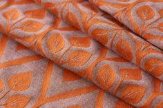 Yaro la Vita Orange Grey Wool