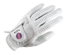 Wilson Golf Ladies Hope Premium Leather Left Hand Glove (Medium) by Wilson. $6.00. By purchasing Wilson Hope Golf gloves you will have joined The Breast Cancer Research Foundation's quest to achieve prevention and move closer to a cure for breast cancer.