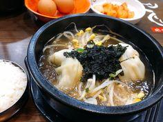 콩심 만두콩나물국밥