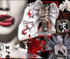 Gothic Vampire Poetry | Dark Vampire Goth Poem.. Picture #110099631 | Blingee.com