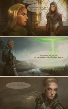 The feels but that means Alistair would show signs before her since he has had the taint longer