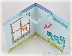 Scor-pal: Flying Butterfly Pop Up Card by Diane Zechman