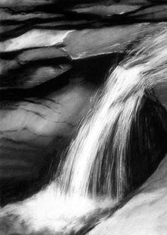 Waterfall Art - Contemporary Art by Karen Kucharski