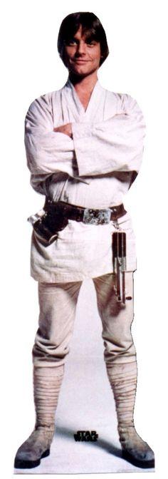 Advanced Graphics Star Wars - Luke Skywalker Life-Size Cardboard Stand-Up & Reviews | Wayfair