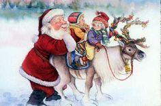 Sueños de niña: Lisi Martin y Papá Noel