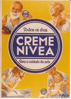 Adorei essa propaganda do Creme Nivea incentivando o uso em todas as ocasiões...