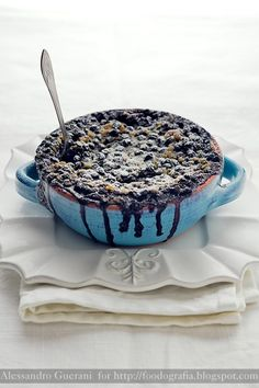 Blueberry pudding ♥ Dessert
