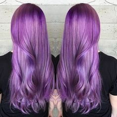 Dreamy Lavender Purple  color design by @masey.cheveux #hotonbeauty