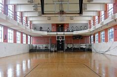 Basketball/Volleyball Court at the New Orleans Athletic Club