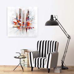 Acryl Gemälde 'Realitätsverlust' 100x100cm