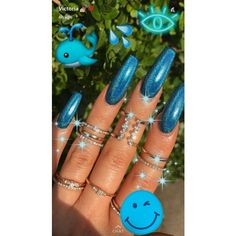 60 Summer Nail Art 2019 ideas for unbeatable shine and confidence # nails . - 60 Summer Nail Art 2019 ideas for unbeatable shine and confidence # nailsart - Nail Art Designs, Acrylic Nail Designs, Coffin Nails Designs Summer, Gorgeous Nails, Pretty Nails, Nagel Gel, Best Acrylic Nails, Acrylic Nail Art, Dream Nails