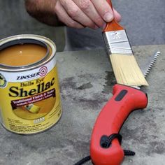 From keeping tools rust-free to eliminating odors under carpets, we show you 10 uses for shellac. | Photo: Wendell T. Webber | thisoldhouse.com