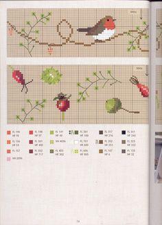 Нежный дизайн с птичками, вышивка. Обсуждение на LiveInternet - Российский Сервис Онлайн-Дневников