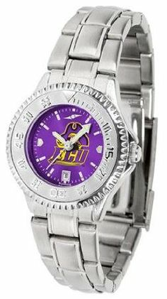 East Carolina Pirates ECU NCAA Womens Steel Anochrome Watch by SunTime. $86.95. Showcase the hottest design in watches today! The functional rotating bezel is color-coordinated to compliment your favorite team logo. The Competitor Steel utilizes an attractive and secure stainless steel band.The AnoChrome dial option increases the visual impact of any watch with a stunning radial reflection similar to that of the underside of a CD. Perceived value is increased with ...