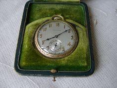 1926 Hamilton 14K Solid Yellow Gold Pocket Watch