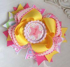 Birthday Bow by JoyfulJossyBowtique on Etsy, $7.50