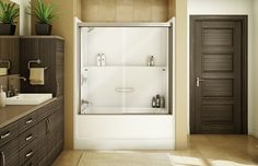 Mirolin Liberty 60 Inch 1 Pc Acrylic Tub And Shower