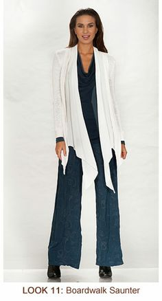 Amazing wrap from XCVI just in at Mannequin at Salon DeLange.  We have it in iight navy blue