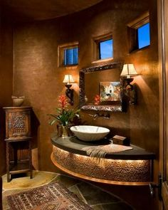 Dramatic Vanity - Rondi Interior Design by MyohoDane