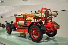 Porsche Designed Fire Engine at the Porsche Museum