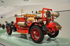 Porsche Designed Fire Engine at the Porsche Museum