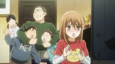 I ABSOLUTELY LOVE THIS ANIME, CHIHAYAFURU! My fav anime!