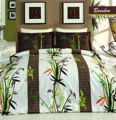 Lenjerie de pat Satin Bamboo #homedecor #interiordesign #inspiration #homedesign #bamboo #tropical Tropical, Interiores Design, Comforters, Bamboo, Satin, Blanket, Bed, Home, Creature Comforts