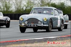 Aston Martin DB2/4, n15, Circuit Val-de-vienne, Tour Auto