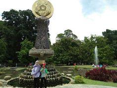 My lovely sista @Bogor Botanical Garden ♡