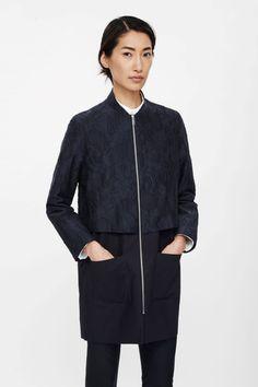 Textured layer jacket