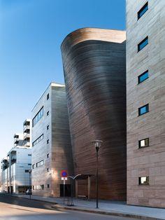 VÅGEN high school and SANDNES Culture Academy / LINK Arkitektur AS | ArchDaily