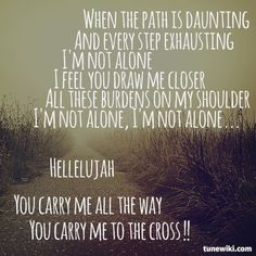 Carry Me to the Cross (Kutless) - LYRICS - YouTube