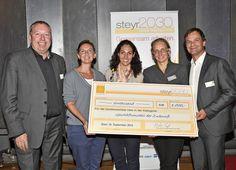 FAZAT-Award für erfolgreiche Steyrer Innenstadt-Initiative Innovation, Steyr, City, Cover, Books, Shopping, Economics, Libros, Book