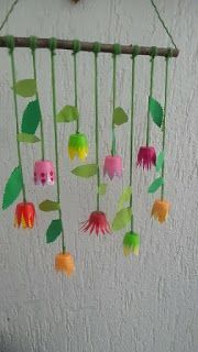From the creative workshop Do not these flowers look magical? As a decoration on the … - DIY Crafts From the creative workshop Do not these flowers look magical? As a decoration on the … Diy For Kids, Crafts For Kids, Spring Decoration, Diy And Crafts, Arts And Crafts, Diy Y Manualidades, Creative Workshop, Creative Studio, Diy Décoration