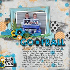 Kit: Call Me Crazy by Laura Banasiak - Template: Holey Moley by Down the Road Designs - Page design by To Be Remembered Designs