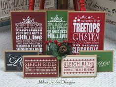 Another FABULOUS layout idea for signs. LOVE!