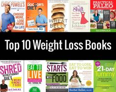 Get inspired to continue on your weight loss journey with one of these top weight loss books!