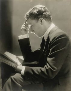 Charlie Chaplin, 1920 -by Baron Adolf de Meyer from sotheby's